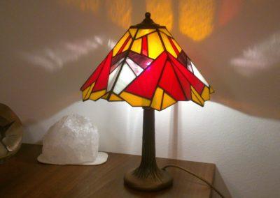 Lampa panelová