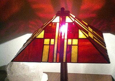 Lampa panelová - Art deco