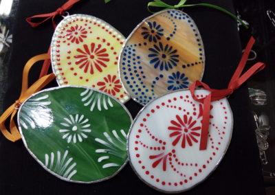 Velikonoční dekorace - malovaná vejce