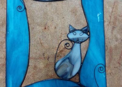 Kočka v okně - z kurzů