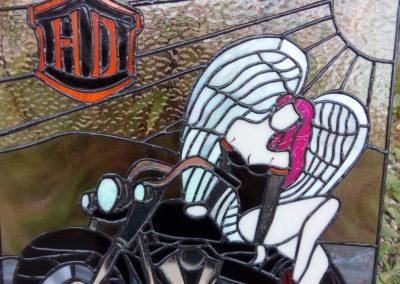 Anděl na motorce