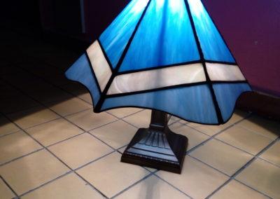 Lampa - panelová -z kurzů