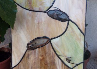 Panel - květinová stěna