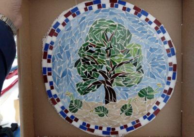 Skleněná mozaika